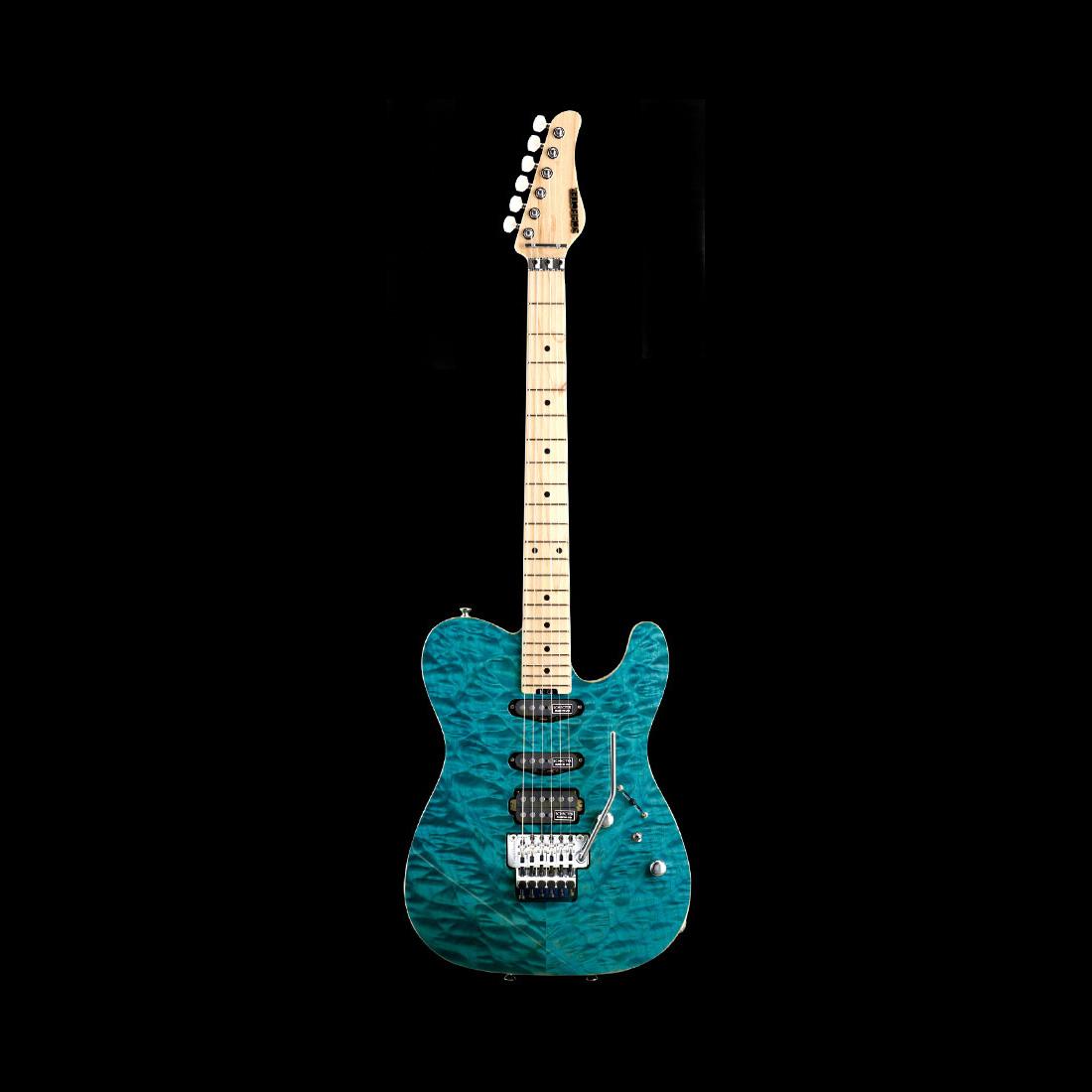 Schecter / PT-IV-CTM-FRT M Indigo Ligt Blue シェクター エレキギター 《受注生産:予約受付中》