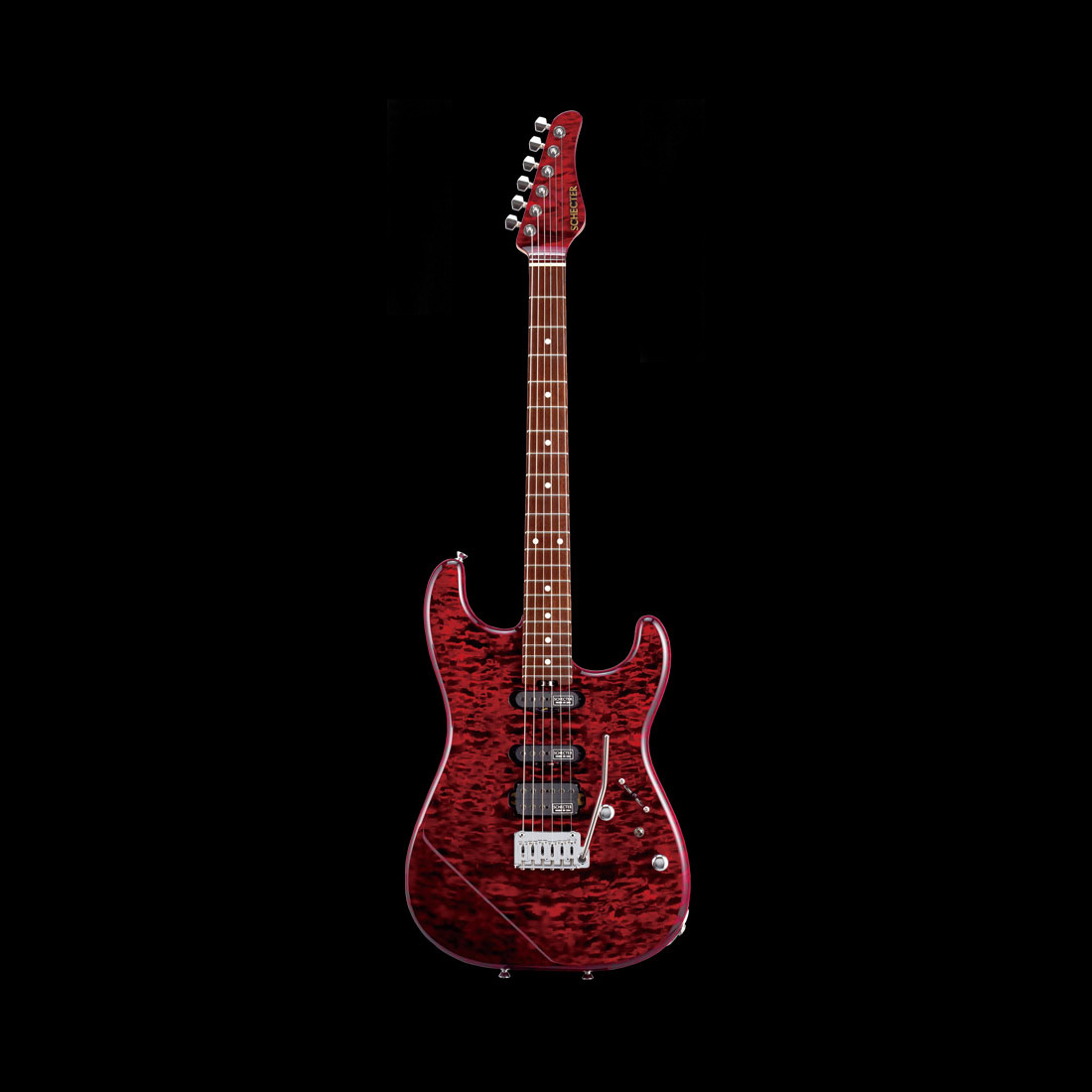 Schecter/ST-IV-CTM-VTRR/NPGBlackCherryシェクターエレキギター