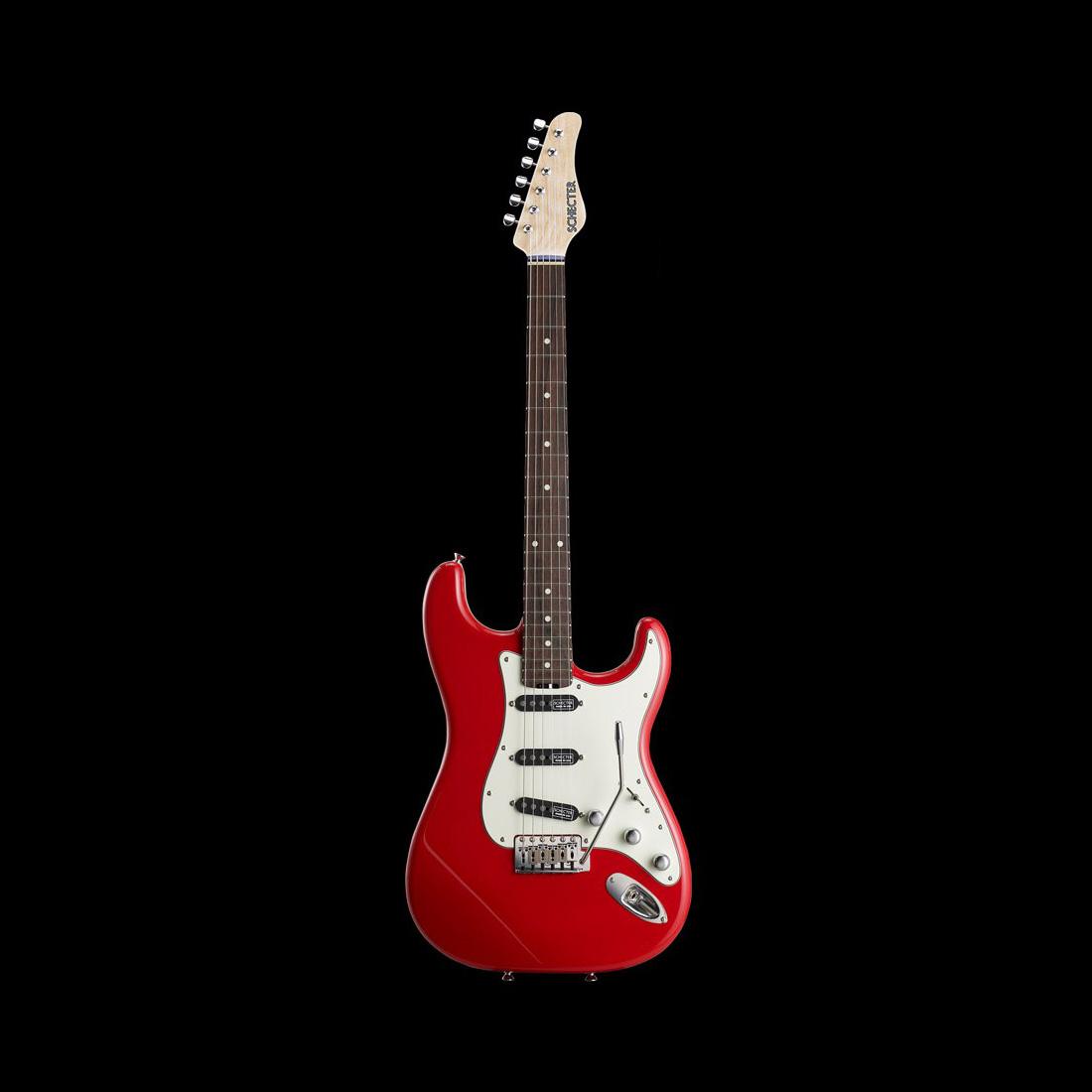 Schecter / TR-ST Alder/Rosewood Fiesta Red シェクター エレキギター 《受注生産:予約受付中》
