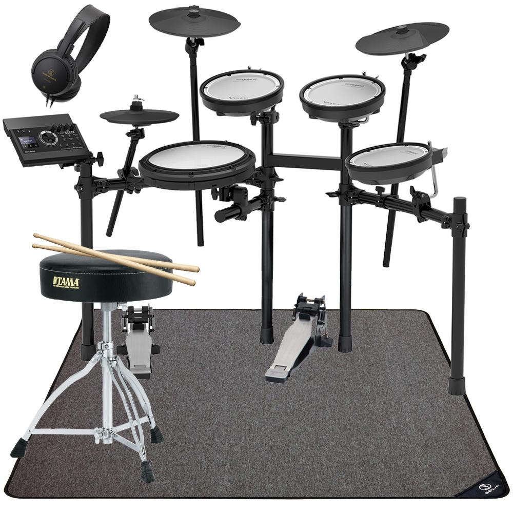 Roland 電子ドラム TD-17KV-S カスタムキット KT-9キックペダルセット マット付きver2【YRK】