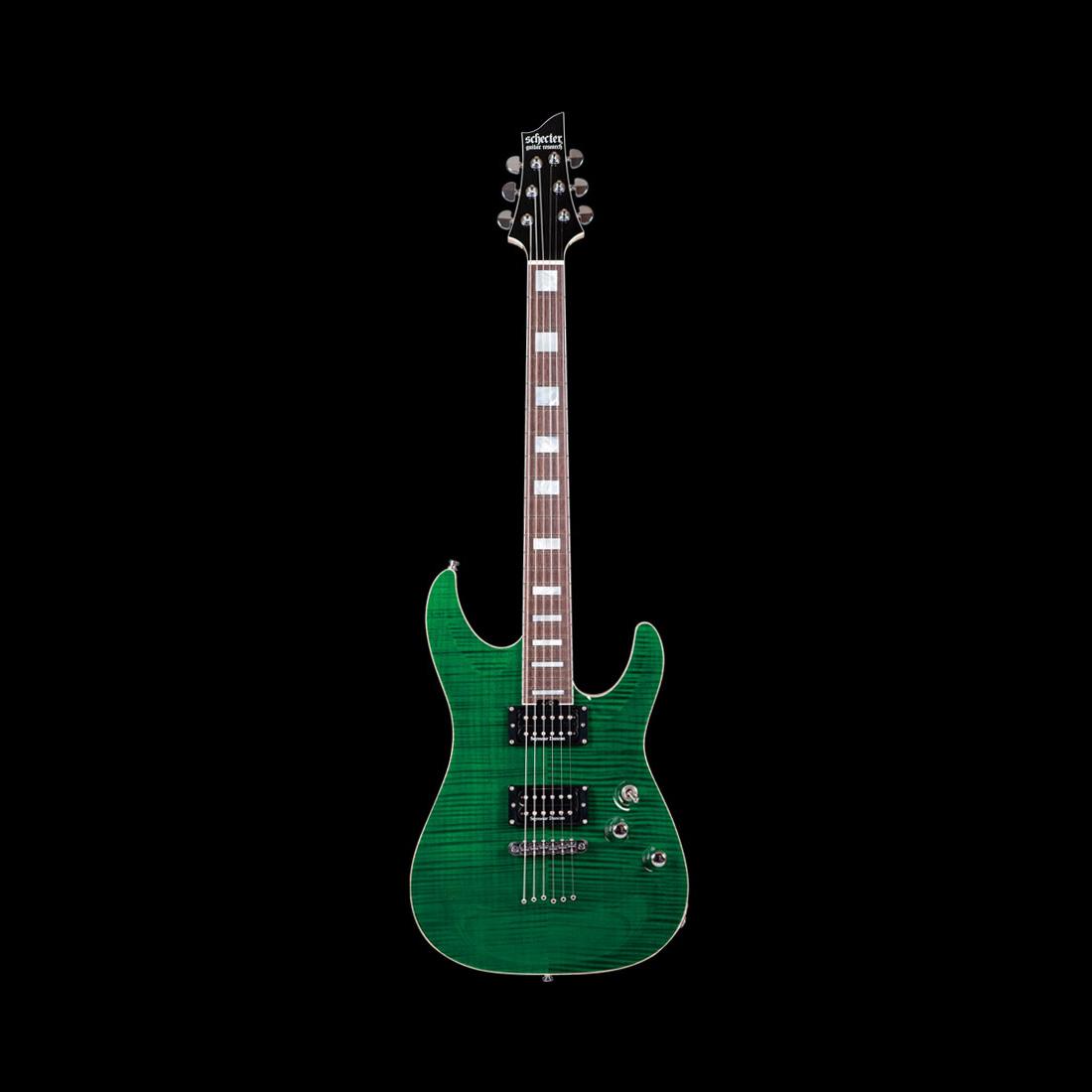 Schecter / AC-FC-TH/SIG See Thru Green シェクター エレキギター TAKAHIROシグネイチャー 《受注生産:予約受付中》