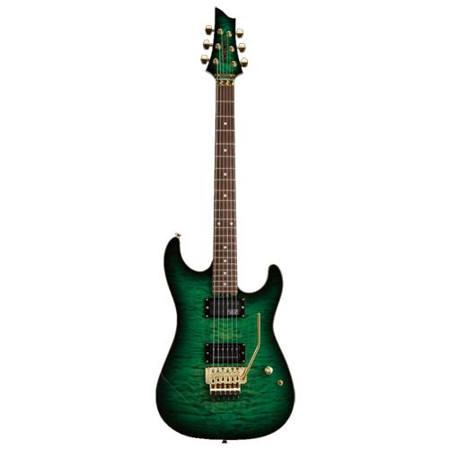 Schecter / AC-LV-SX/SIG-0 Emerald Green Burst シェクター エレキギター Sxunシグネイチャー 《受注生産:予約受付中》