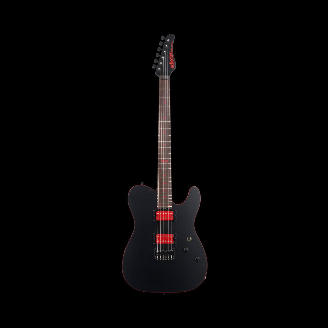 Schecter / AC-SM-SH-SIG Mat Black シェクター エレキギター SHOW-HATEシグネイチヤー 《受注生産:予約受付中》