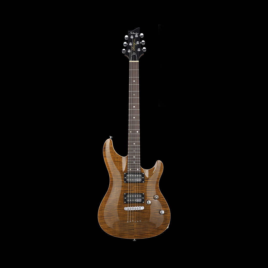 Schecter / RX-2-24-CTM-TOM Brown Amber シェクター エレキギター 《完全受注生産:予約受付中》