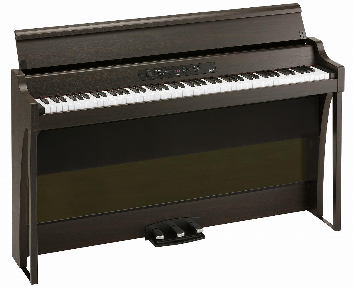 KORG コルグ / G1B AIR BROWN (ブラウン) 電子ピアノ【PNG】《納期/11月下旬以降》