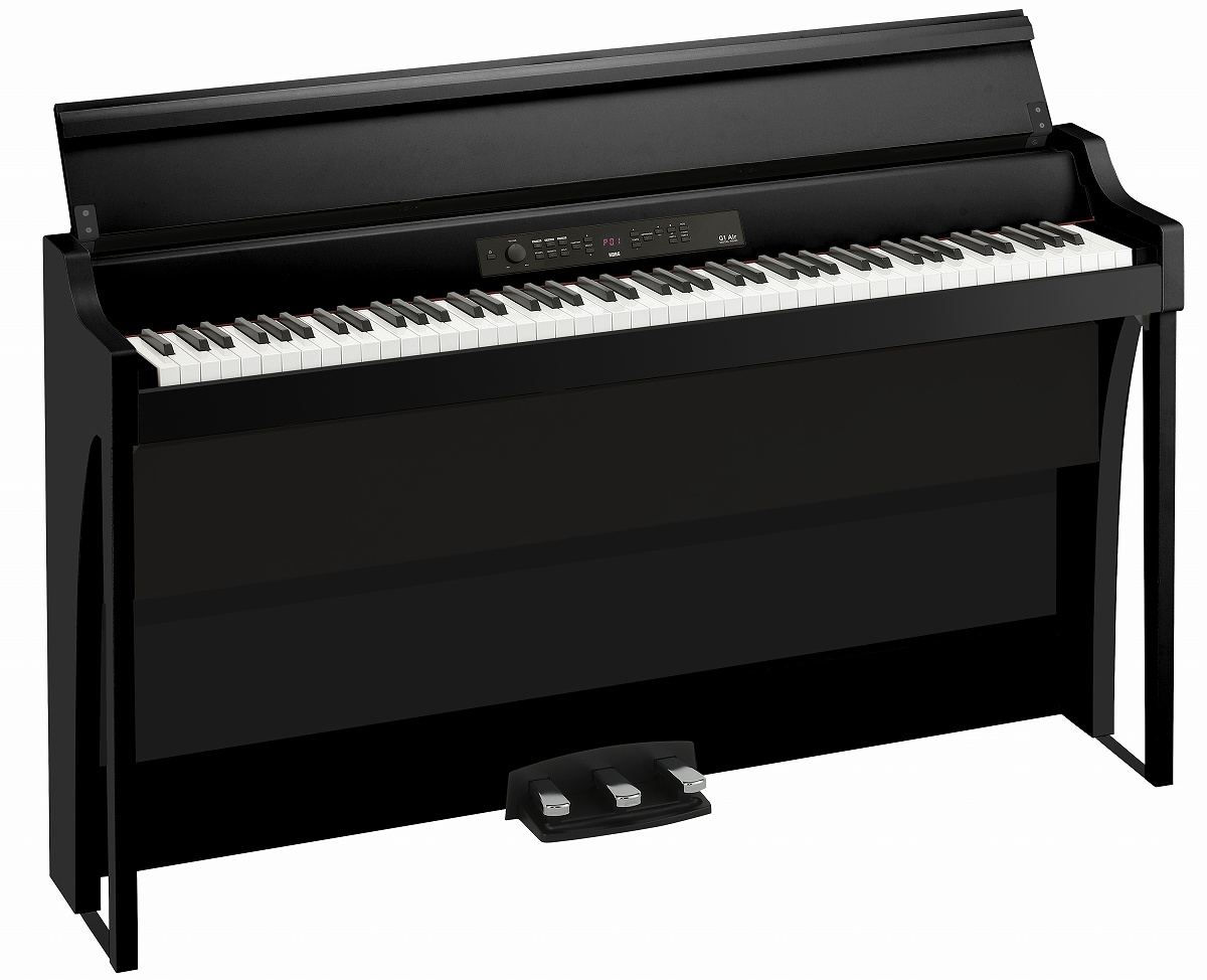KORG コルグ / G1B AIR BLACK (ブラック) 電子ピアノ【PNG】《納期/11月下旬以降》