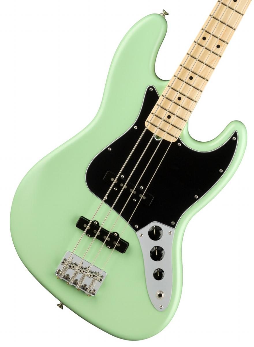 Fender USA / American Performer Jazz Bass Maple Fingerboard Satin Surf Green【新品特価】《純正ケーブル&ピック1ダースプレゼント!/+661944400》