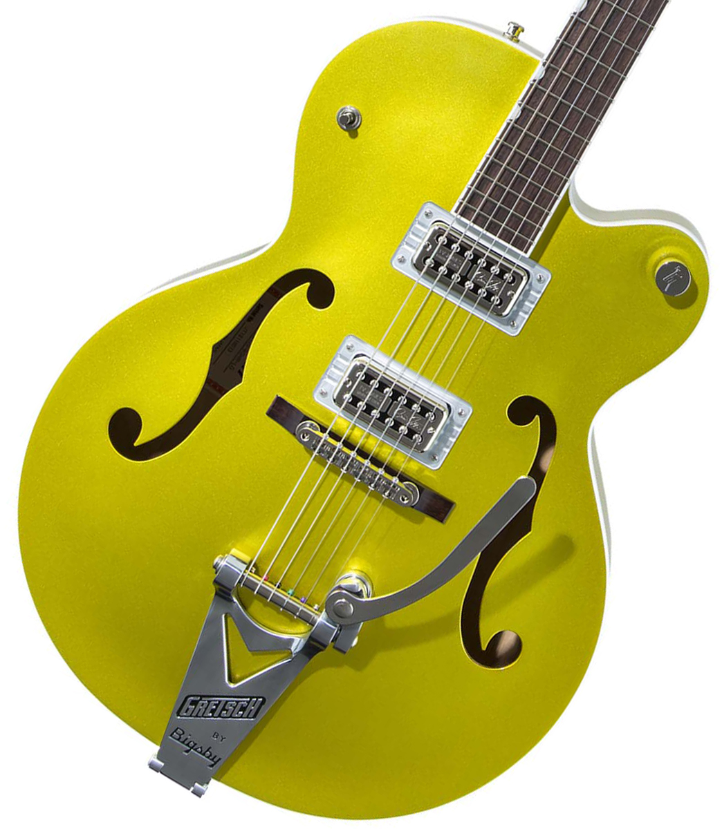 Gretsch / G6120T-HR Brian Setzer Signature Hot Rod Hollow Body with Bigsby Lime Gold グレッチ