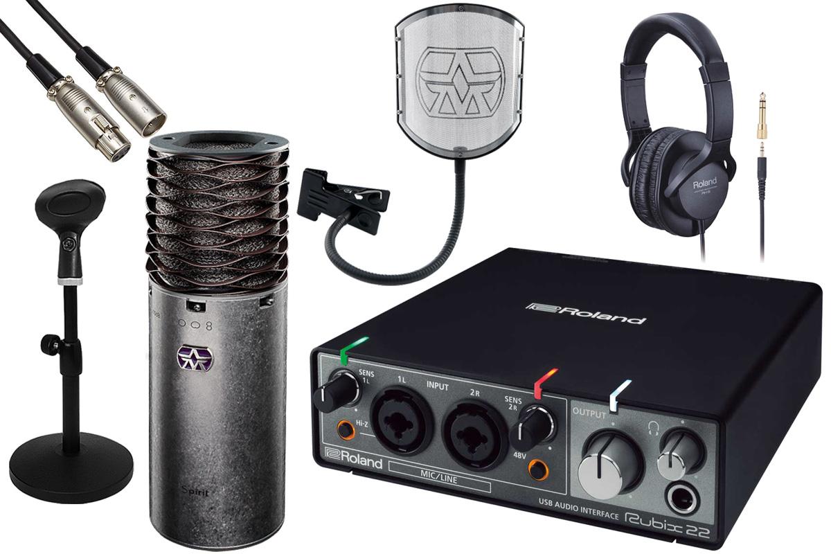 Aston Microphones アストンマイクロフォンズ / AST-SPIRIT(N)【Rubix22&卓上録音アクセサリーセット!】【YRK】