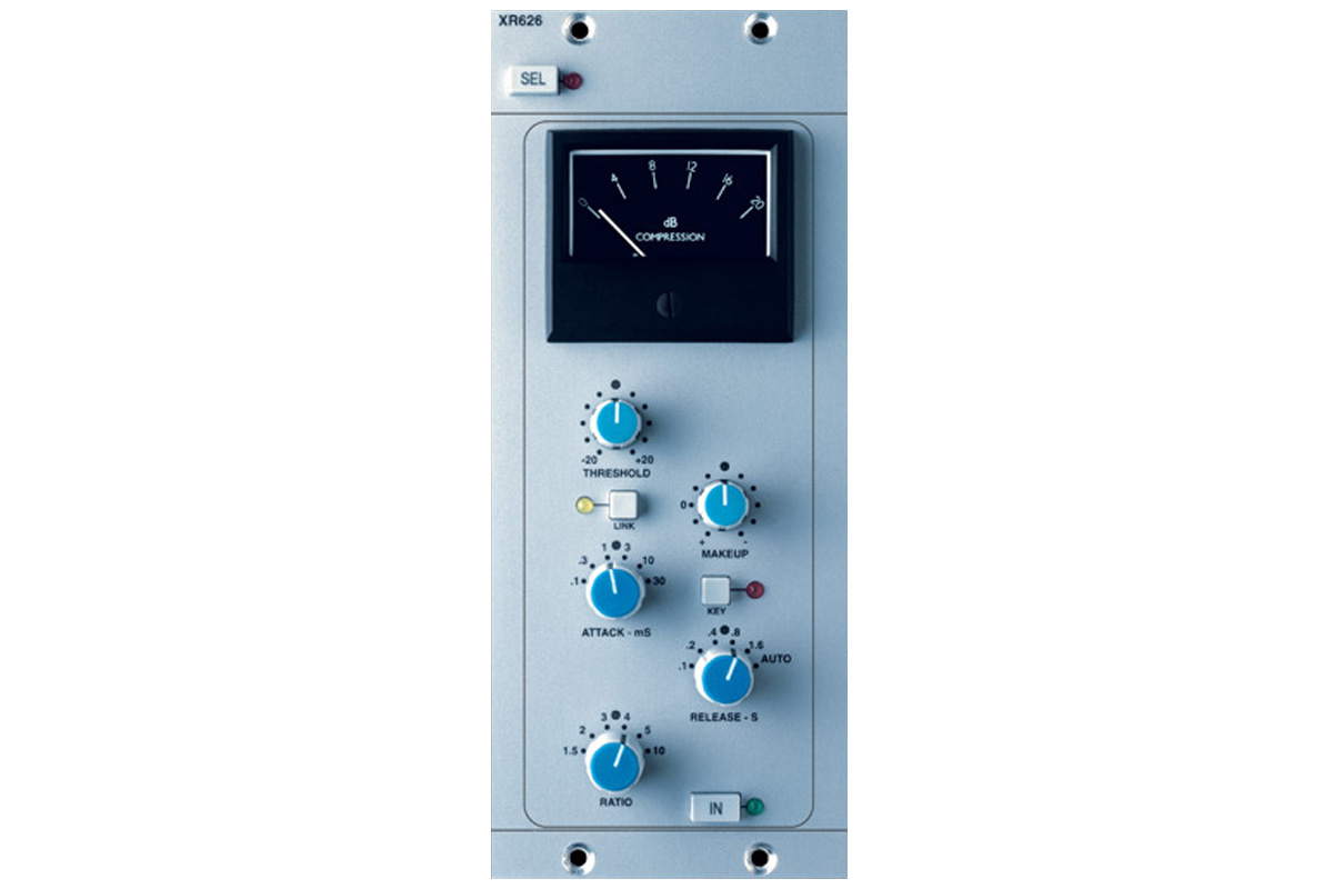 Solid State Logic (SSL) / XLogic X-Rack Stereo Bus Compressor Module【お取り寄せ商品】