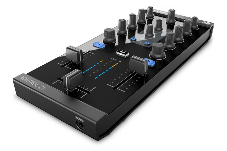 Native Instruments ネイティブインストゥルメンツ / TRAKTOR KONTROL Z1 TRAKTOR PRO用ミキシングコントローラ 【WEBSHOP】【お取り寄せ商品】