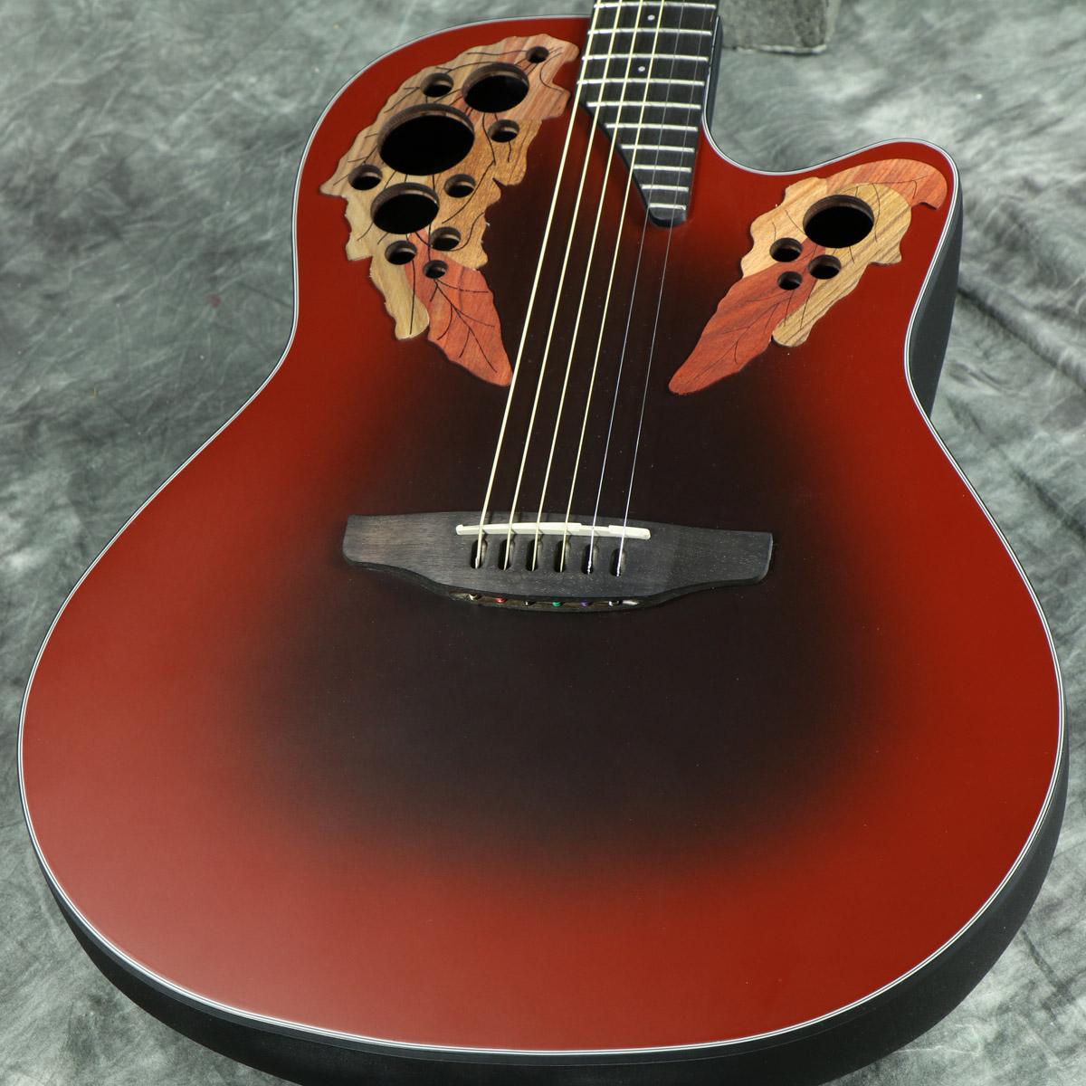 【在庫有り】 Ovation / Celebrity Elite CE44-RRB (Reverse Red Burst) 《プレゼントあり!/+set79094》 オベーション セレブリティ アコースティックギター エレアコ CE-44
