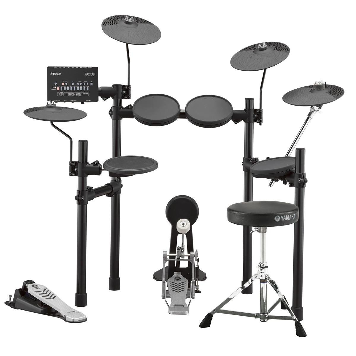 YAMAHA / DTX452KUPGS 3シンバル アップグレード ヤマハ 電子ドラム ドラムイスとキックペダル付属【YRK】