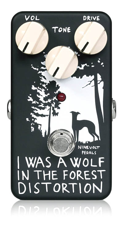 NINEVOLT PEDALS / I WAS A WOLF IN THE FOREST DISTORTION【お取り寄せ商品】