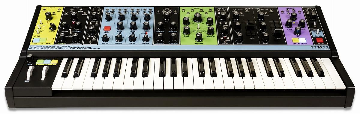【在庫あり】moog モーグ / Matriarch 4ボイス・パラフォニック セミモジュラー・アナログシンセサイザー【YRK】