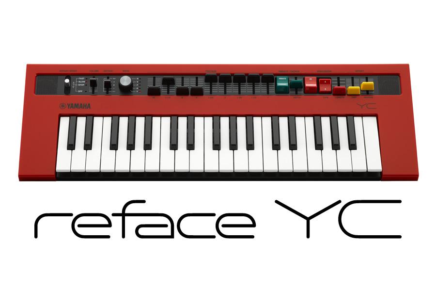 【在庫あり】YAMAHA ヤマハ / reface YC モバイルミニキーボード【YRK】