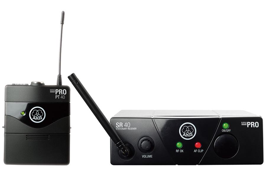 AKG アーカーゲー / WMS40 PRO MINI INSTRUMENTAL SET (JP1) ワイヤレスシステム