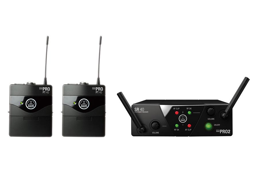 AKG アーカーゲー / WMS40 PRO MINI2 INSTRUMENTAL SET DUAL ワイヤレスシステム