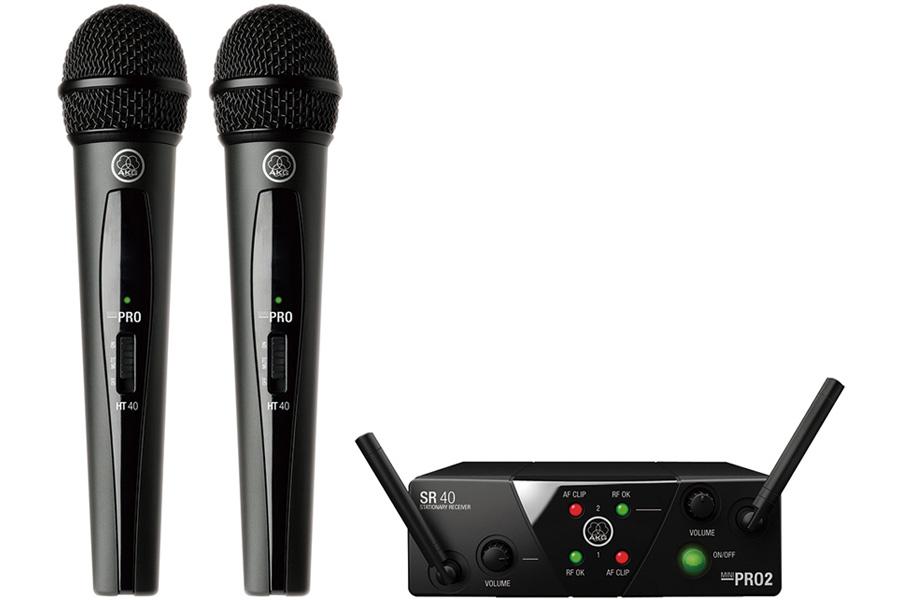 AKG アーカーゲー / WMS40 PRO MINI2 VOCAL SET DUAL ワイヤレスシステム