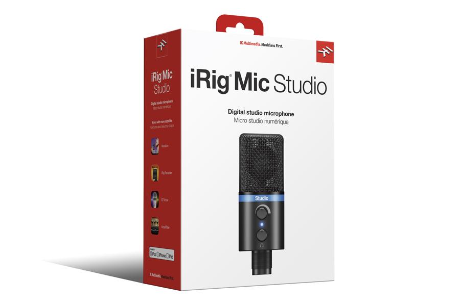 IK Multimedia アイケーマルチメディア / iRig Mic Studio Black