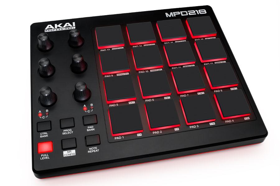 AKAI アカイ / MPD218 MIDIコントローラー