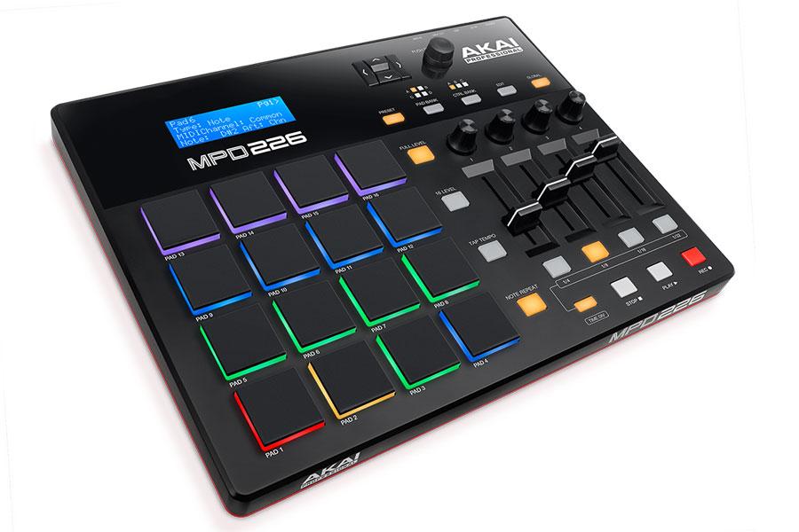 AKAI アカイ / MPD226 MIDIコントローラー【お取り寄せ商品】【PNG】