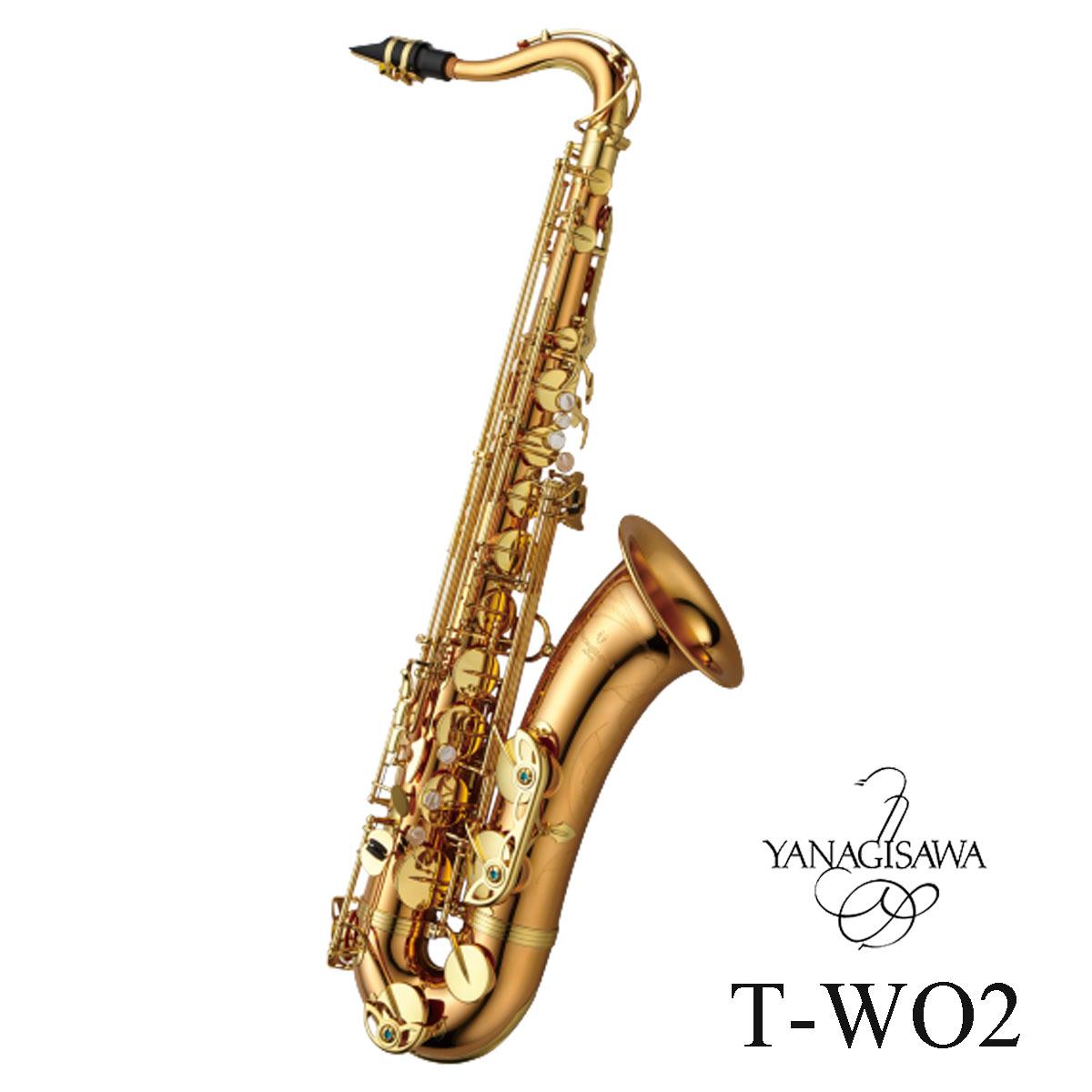 Yanagisawa TENOR SAXOPHONE T-WO2 ヤナギサワ テナーサックス ダブルオーシリーズ【ご予約受付中/納期ご相談ください】【5年保証】
