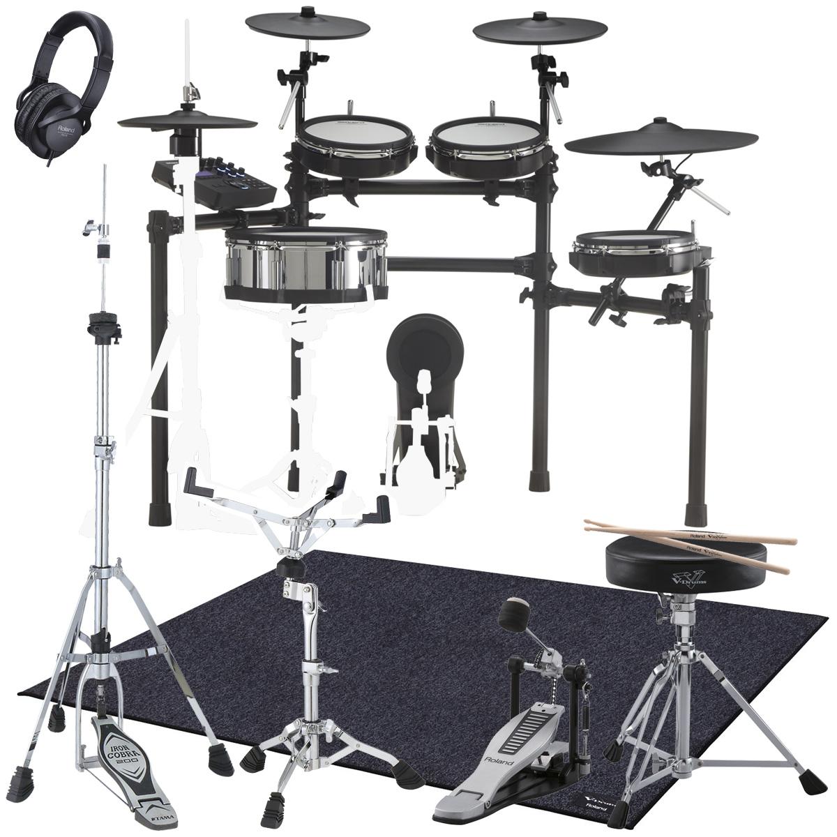 ROLAND / TD-27KV 電子ドラム 推奨ドラムスタンドセット スターターパックDAP/TDM20【YRK】
