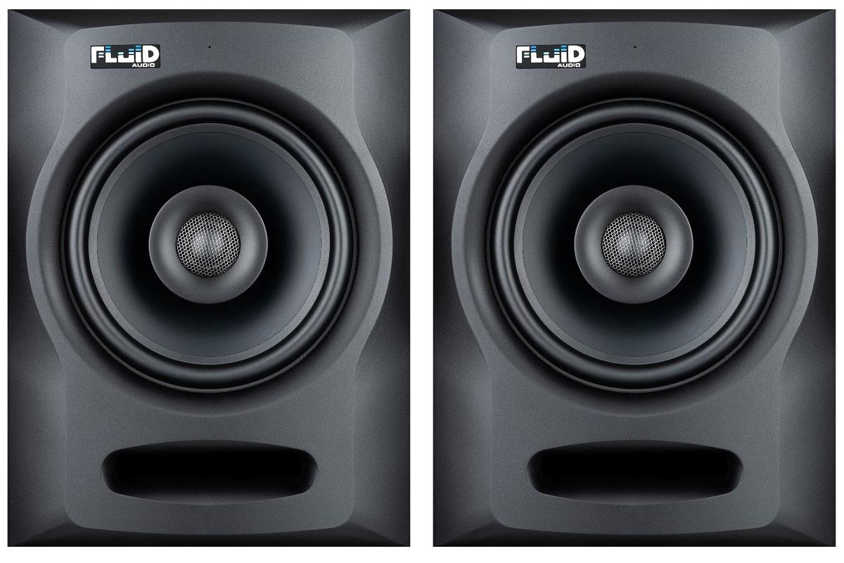 FluidAudio フルイドオーディオ / FX80 モニタースピーカー(ペア)【お取り寄せ商品】【YRK】
