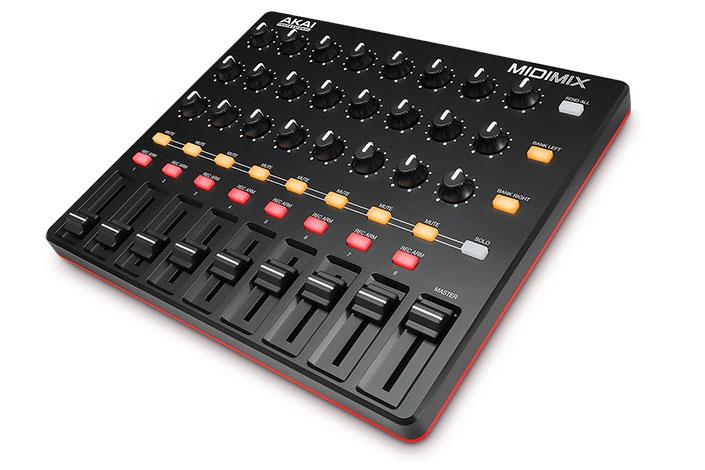 AKAI アカイ / MIDI MIX MIDIコントローラー