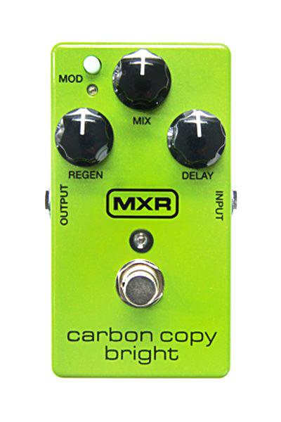 MXR / M269 Carbon Copy Bright Analog Delay カーボンコピーブライト ディレイ【国内正規品/お取り寄せ商品】【WEBSHOP】