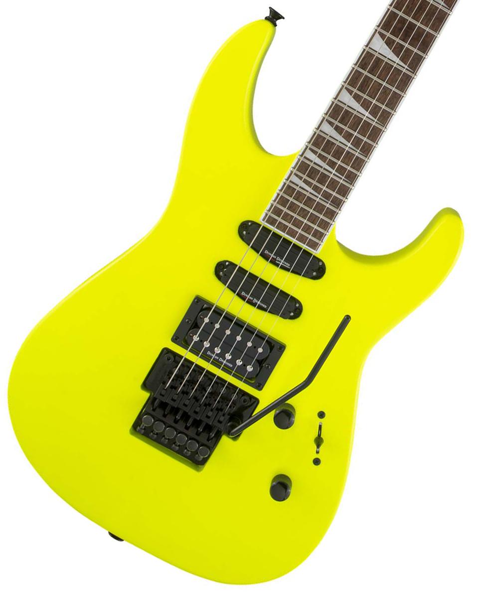 Jackson / X Series Soloist SL3X Neon Yellow ジャクソン 【お取り寄せ商品】