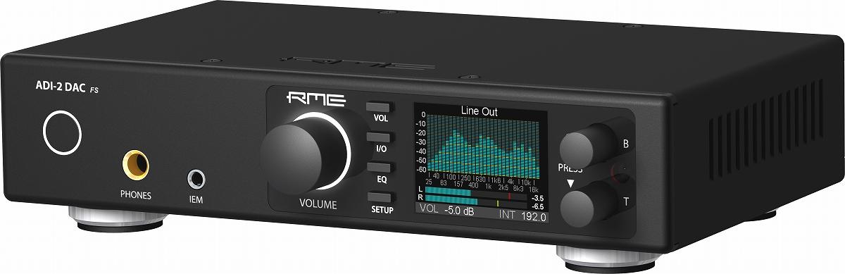 RME アールエムイー / ADI-2 DAC FS ハイエンド DAC【お取り寄せ商品】【PNG】