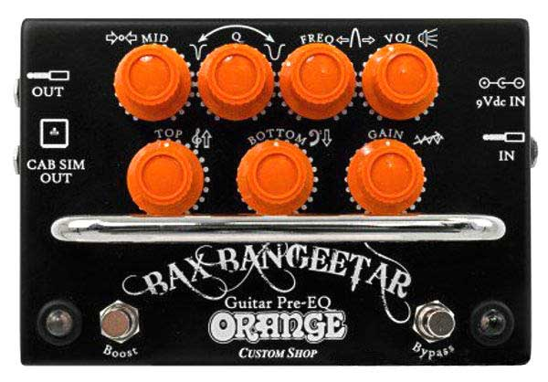 Orange / Bax Bangeetar Guitar Pre-EQ 【バックス・バンジーター】