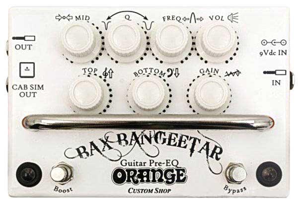 Orange / Bax Bangeetar Guitar Pre-EQ White【バックス・バンジーター】