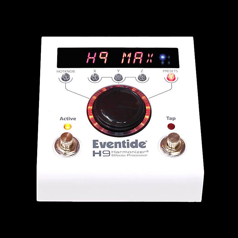 Eventide / H9 MAX 【イーブンタイド】【マルチエフェクター】