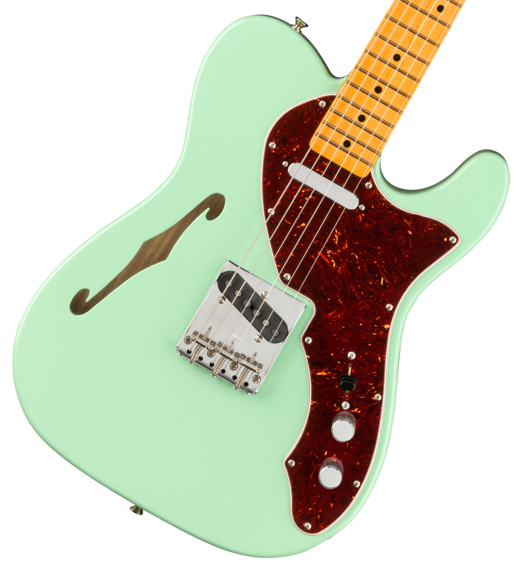 Fender / American Original 60s Telecaster Thinline Maple Fingerboard Surf Green フェンダー《純正ケーブル&ピック1ダースプレゼント!/+661944400》