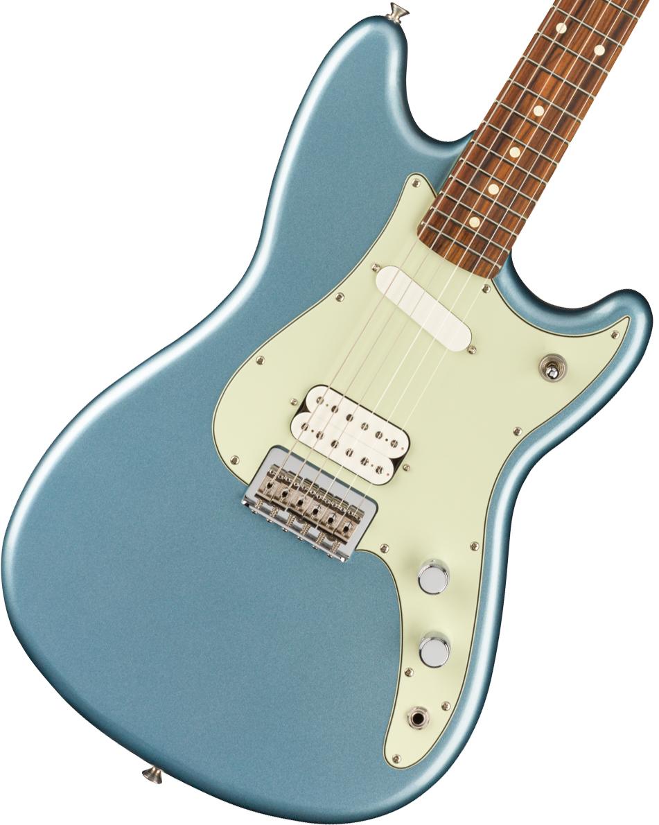 Fender / Player Duo-Sonic HS Pau Ferro Fingerboard Ice Blue Metallic フェンダー《純正ケーブル&ピック1ダースプレゼント!/+661944400》