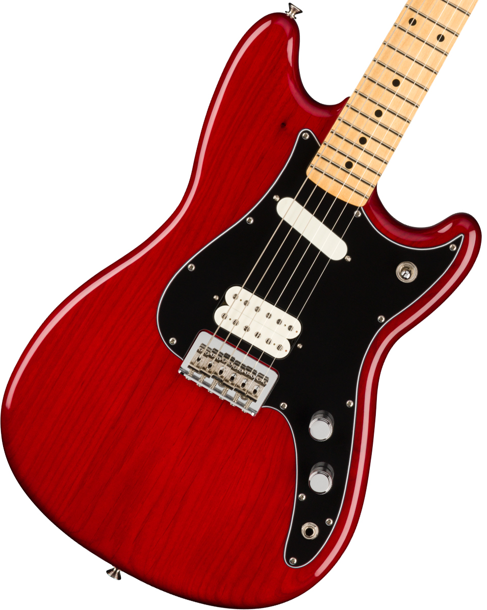 Fender / Player Duo-Sonic HS Maple Fingerboard Crimson Red Transparent フェンダー《純正ケーブル&ピック1ダースプレゼント!/+661944400》