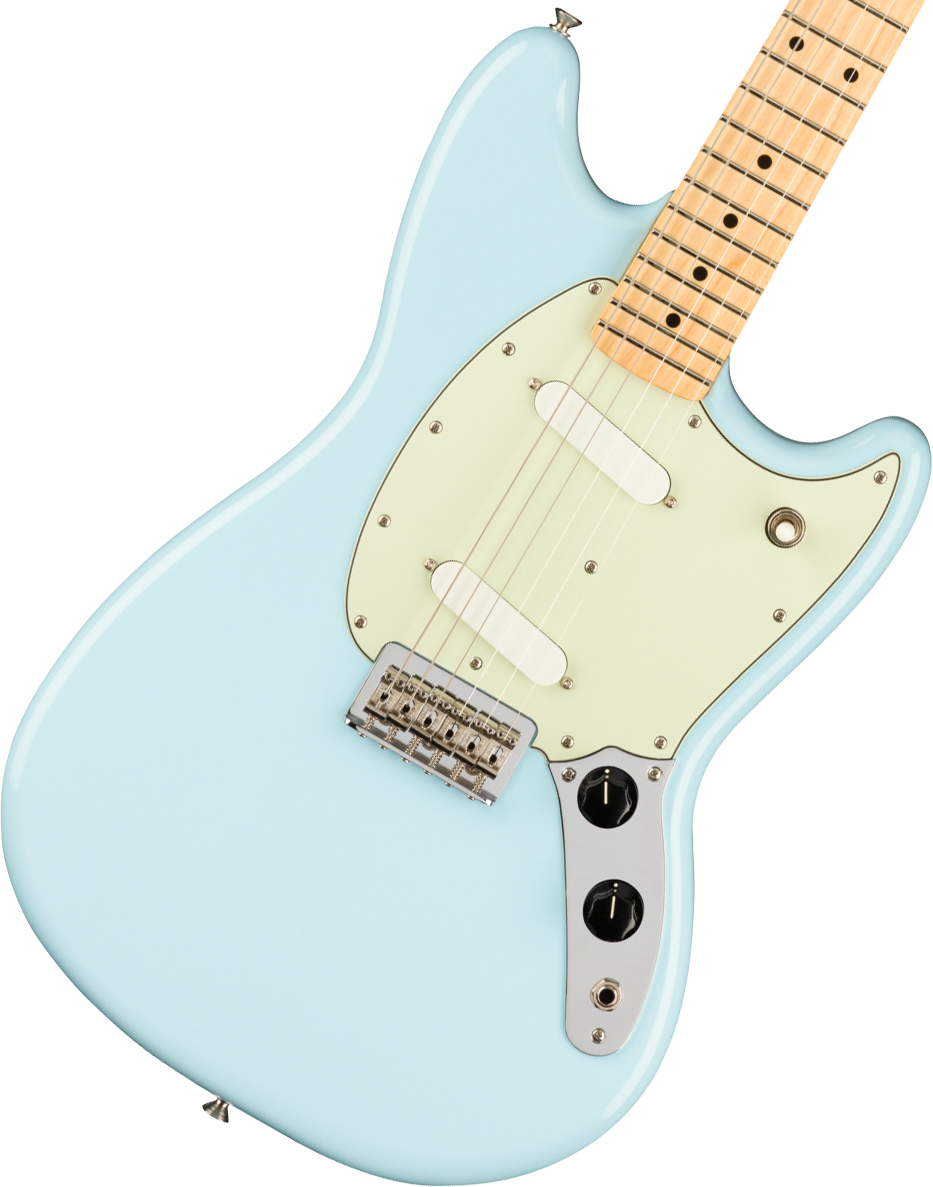 Fender / Player Mustang Maple Fingerboard Sonic Blue フェンダー《純正ケーブル&ピック1ダースプレゼント!/+661944400》