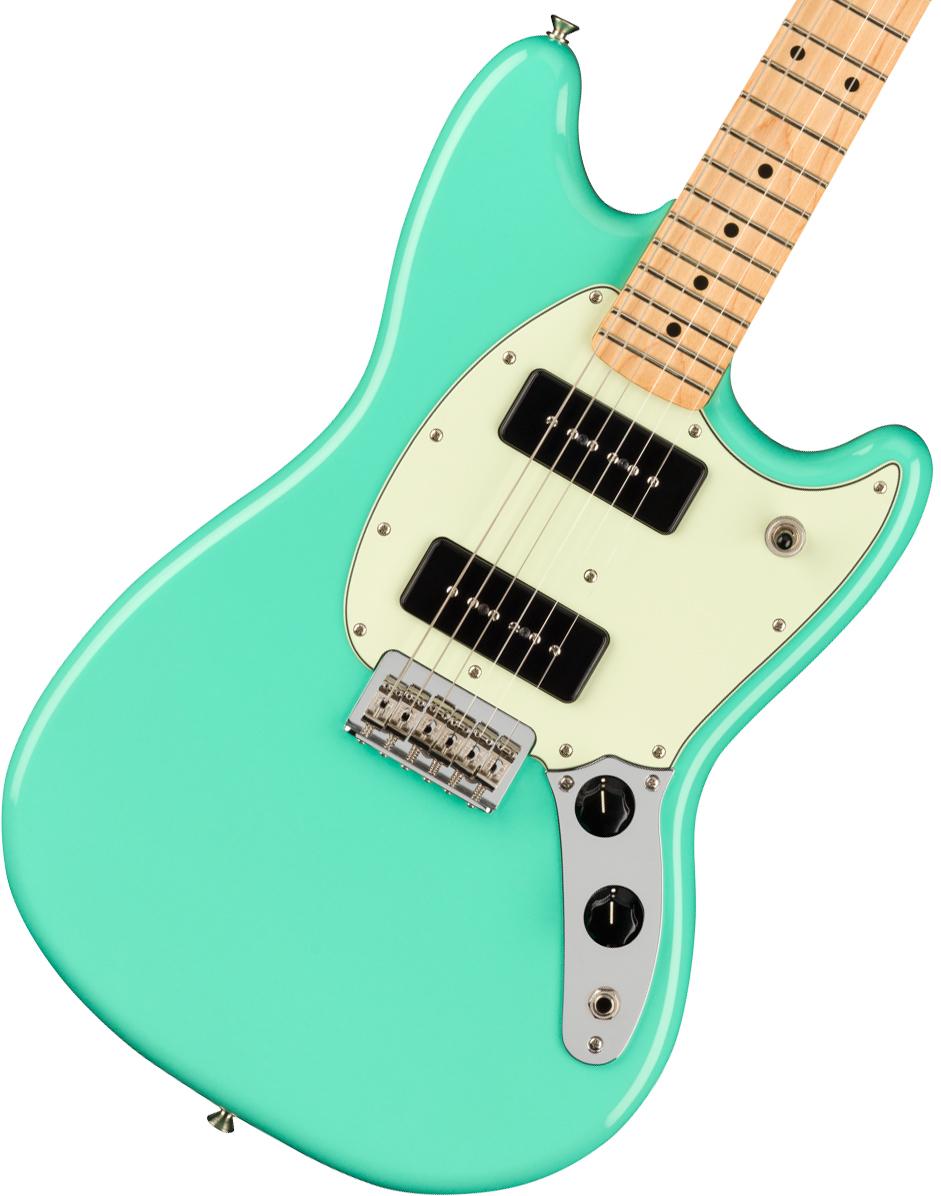 Fender / Player Mustang 90 Maple Fingerboard Seafoam Green フェンダー《純正ケーブル&ピック1ダースプレゼント!/+661944400》