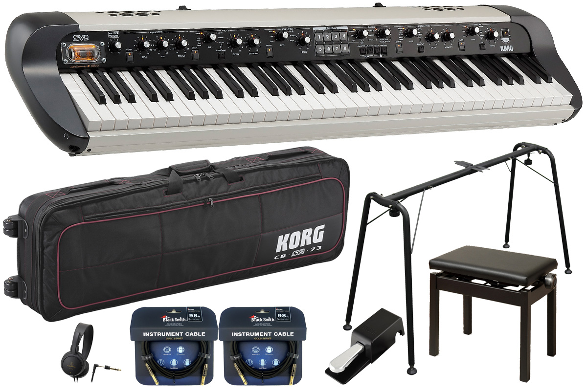 【在庫あり】KORG コルグ / SV2-73S【コンプリートセット!】73鍵盤ステージ・ビンテージ・ピアノ【YRK】