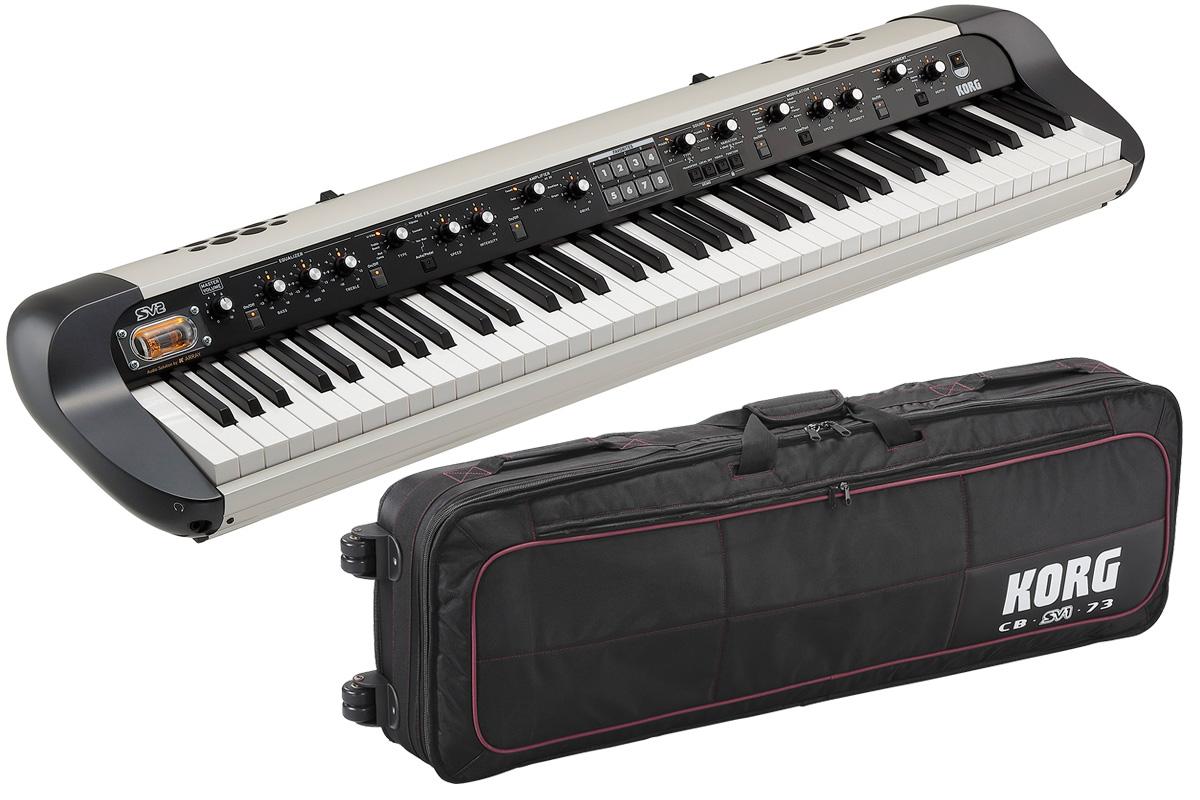 【在庫あり】KORG コルグ / SV2-73S【純正ケースセット!】73鍵盤ステージ・ビンテージ・ピアノ【YRK】