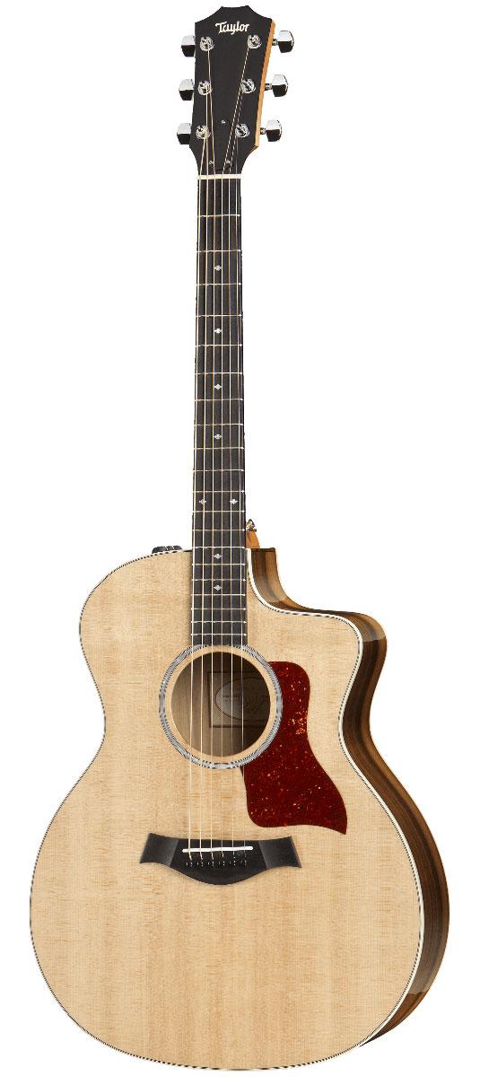 Taylor / 214ce-Koa DLX ES2 NAT (Natural) 《豪華特典つき!/+set79088》《Wood&Steel季刊誌プレゼント!/+811181800》【ハードケース付属!】 テイラー アコースティックギター エレアコ 214ce-K 《お取り寄せ商品》