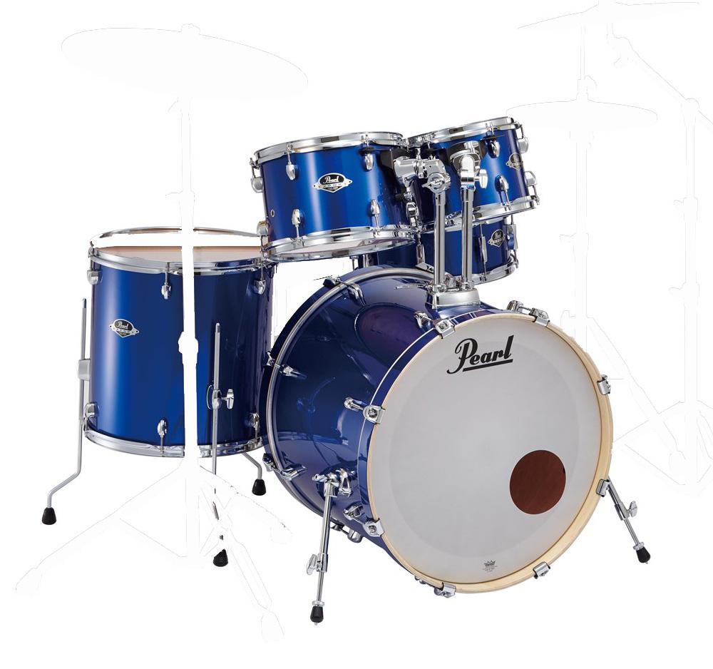 PEARL / EXX725SP/C #717ハイボルテージブルー パール ドラムシェルパック【お取り寄せ商品】