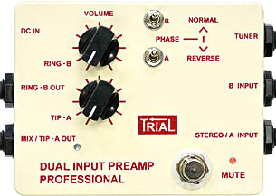 TRIAL / Dual Input Preamp Professional トライアル
