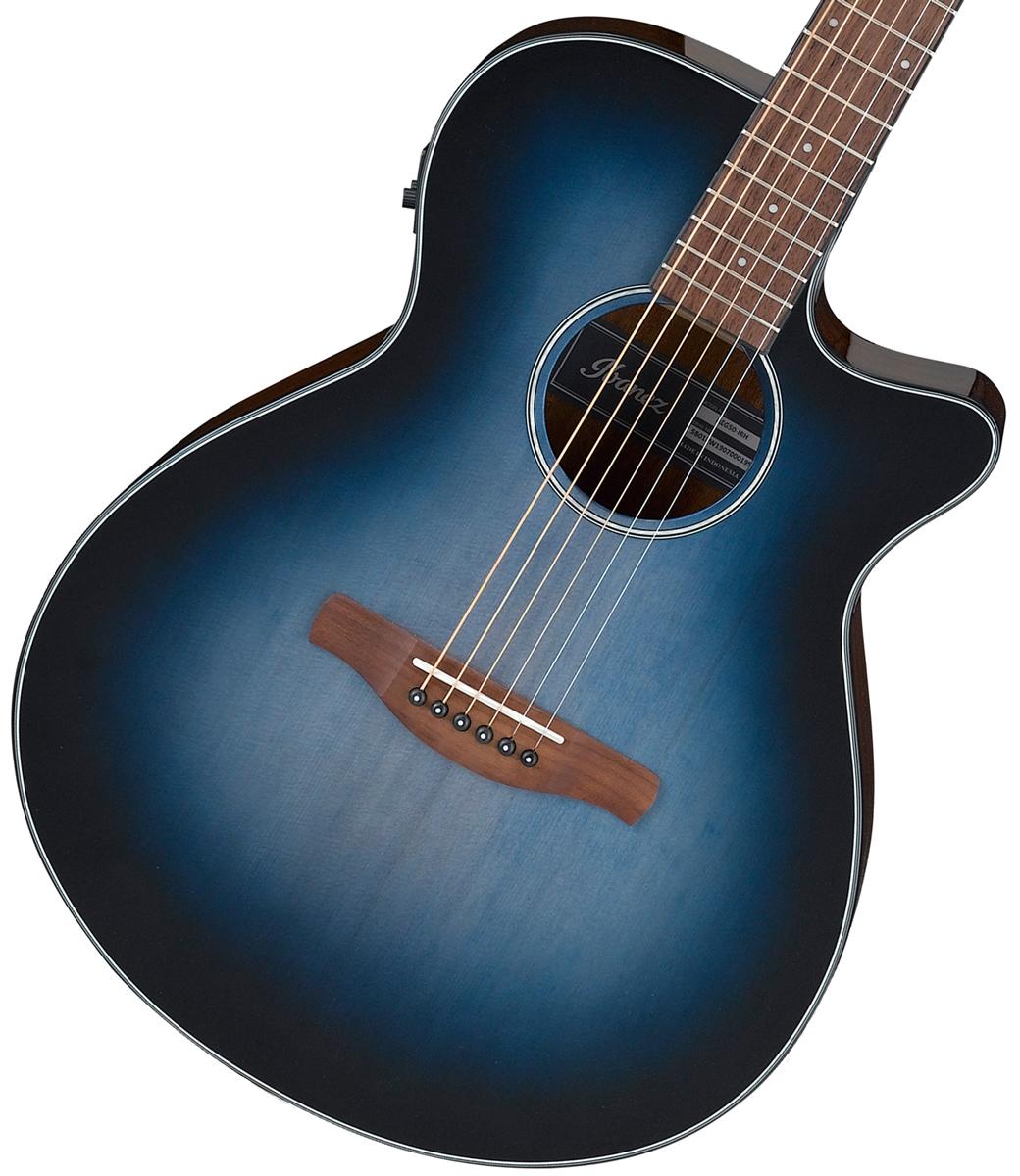 Ibanez / AEG50-IBH (Indigo Blue Burst High Gloss) アイバニーズ エレアコ 【お取り寄せ商品】