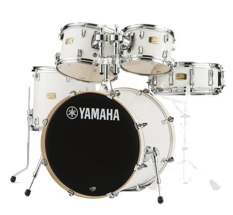 YAMAHA SBP0F5 PWピュアホワイト ヤマハ ステージカスタム 5点シェルキット 20BDセット【YRK】