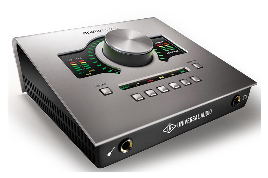 UNIVERSAL AUDIO ユニバーサルオーディオ / APOLLO TWIN USB3.0オーディオインターフェース【お取り寄せ商品】【PNG】