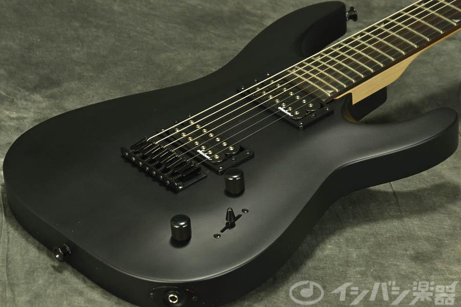 Jackson / JS22-7 Dinky Satin Black ジャクソン 7弦エレキギター